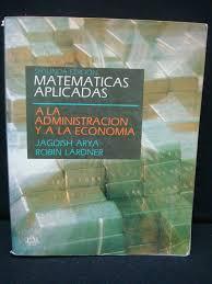 imagenes matematicas aplicadas matemáticas aplicadas a la administración y a la economía 289 00