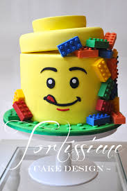 lego man head birthday cake cake art pinterest lego men