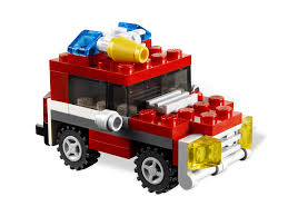 lego ford truck bricker конструктор lego 6911 пожарная мини машина mini fire truck