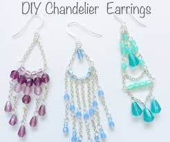 How To Make A Beaded Chandelier Beginners Guide To Diy Chandelier Earrings 7 Steps With Pictures