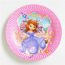 aliexpress buy 10 pcs lot disposable paper plate sofia