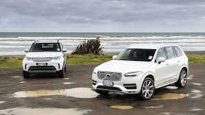 land rover discovery hse td6 vs volvo xc90 comparison review road