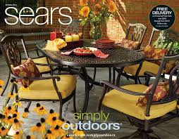 Outdoor Decor Catalog Let Sears Help You Get Ready For Pool And Grilling Season