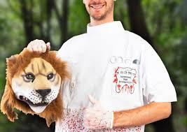 Dentist Halloween Costume Cecil Lion Killer Halloween Costume
