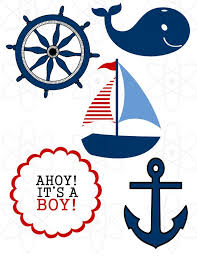 anchor baby shower nautical baby shower clipart clipartxtras