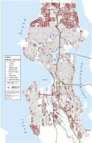 Seattle Public Transit Map by Map Of The Week Lack Of Sidewalks In Seattle The Urbanist
