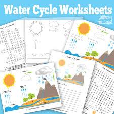 Water Cycle Worksheet Pdf Free Printable Water Cycle Worksheet Itsy Bitsy