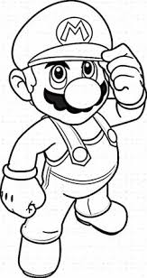 super mario coloring pages printables mario mario