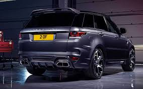 land rover overfinch overfinch range rover sport is an exquisite piece of kit