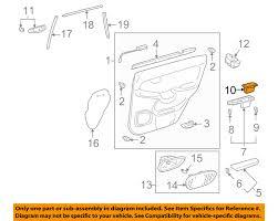 used lexus gx470 parts lexus toyota oem 03 09 gx470 interior rear door ashtray left