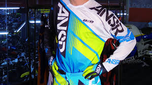 motocross pants and jersey combo answer racing 2016 elite vented motorcycle gear review youtube