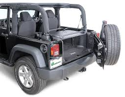 jeep wrangler 2 door sport rage products rear interior sport rack for 07 17 jeep wrangler