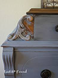 dried lavender milk paint chest makeover reveal lost u0026 found