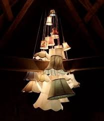 Lamp Shades For Chandeliers Small Best 25 Lampshade Chandelier Ideas On Pinterest Diy Chandelier