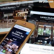 home builder website design website for property custom home