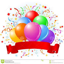 birthday balloons design royalty free stock images image 12389749