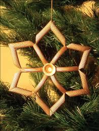crafts tree ornaments noodles idea navidad
