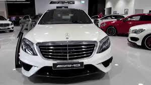 Mercedes Benz Sedan 2015 2015 Mercedes Benz S63 Amg Sedan 4 Door Youtube