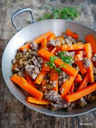 recette de cuisine viande carottes viande hachée et cumin marciatack fr