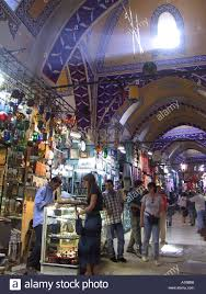 grand bazaar daylight beaming down from the clerestory windows