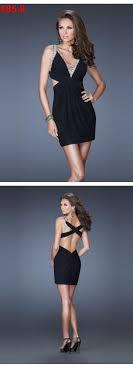 duchesse linie v ausschnitt knielang tull brautjungfernkleid mit scharpe band p656 die besten 25 pinke abschlussballkleider ideen auf