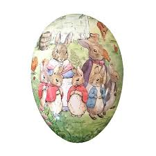 paper mache easter bunny rabbit bunny family papier mache easter egg container germany