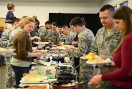 us servicemembers thanksgiving celebrations around the world