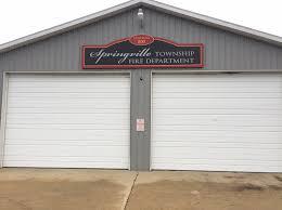 volunteer fire station floor plans fire department springville township