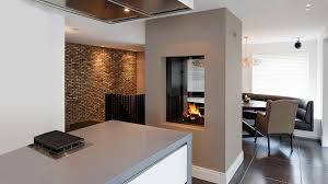 small see through gas fireplace aytsaid com amazing home ideas