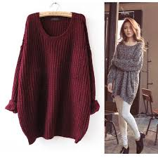 shop s 5xl new arrival womens cozy wide neck sweaters