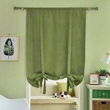 Green And Brown Curtains Free Shipping Curtains Kitchen Brown Blue Blinds Made Solid Door