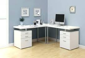 Home Office Computer Desk Furniture White Desk Bethebridge Co