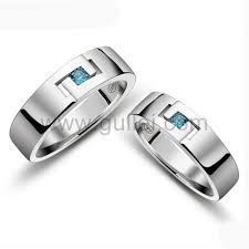 men promise rings korean engravable promise rings set for men and women personalized
