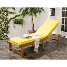 Yellow Patio Chairs Yellow Outdoor Chaise Lounges Patio Chairs The Home Depot