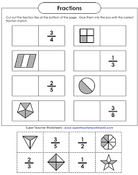 basic fraction worksheets u0026 manipulatives