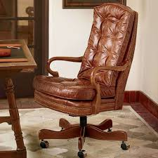 Leather Tufted Chair Articles With Brown Tufted Leather Office Chair Tag Tufted