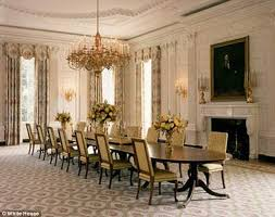 michelle obama spends 600 000 to redecorate white house dining