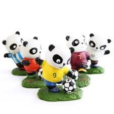 shop 8 style high quality painted football panda