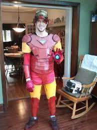 halloween iron man costume diy tutorial diy men halloween costumes diy iron man costume