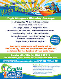 celebrate with us ocean breeze waterpark