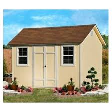 leisure season extra large wood shed with decay resistant coating