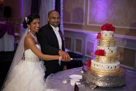 white gold and purple wedding indian wedding reception cake 0 in orlando florida fusion wedding