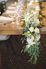 Flower Centerpieces For Wedding 40 Greenery Eucalyptus Wedding Decor Ideas Deer Pearl Flowers