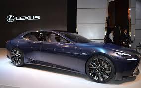 lexus lfa concept lexus lf lc hydrogen now equals luxury the car guide