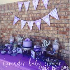 gorgeous lavender baby shower purple and lavender candy bar by