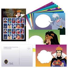 picture postcards disney villains postcards usps