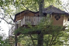 chambre d hote cabane dans les arbres offrir nuit cadeau chambre d hôte ou cabane perche