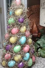 Easter Decorations Instructions by Easter Egg Topiary Full Instructions I Love This Easter