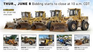 construction equipment auction june 8 2017 purple wave youtube