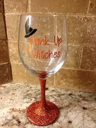 glitter wine glass http www etsy com shop terissignsandsuch ref